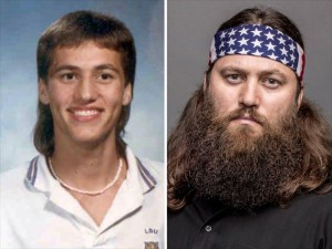 Duck Dynasty photographs, Robertsons before and after