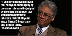 Thomas Sowell on radical, racist