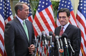 Speaker Boehner and Majority Leader Cantor