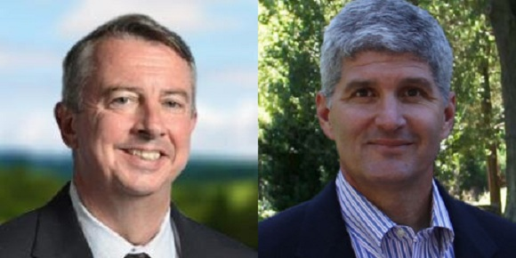 GOP Senate Candidates Ed Gillespie and Shak Hill
