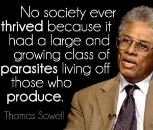 thomas Sowell parasite quote