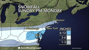 Snowfall March 2 and 3rd