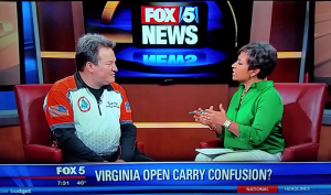 Ed Levine on Fox 5 morning news for VCDL