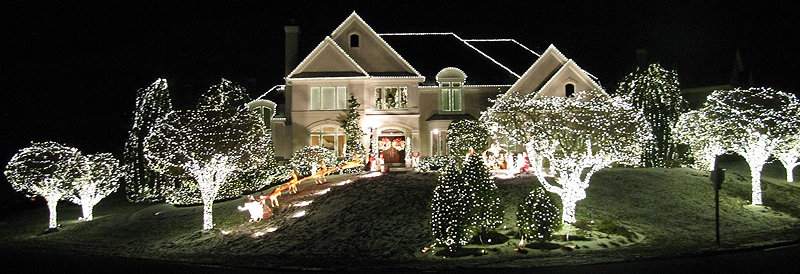 reston christmas lights display - Christmas Lights Maryland