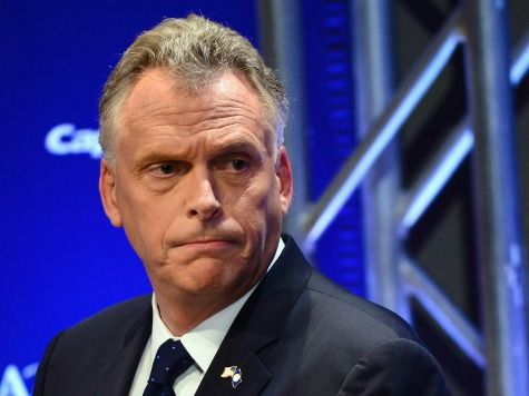 Virginia General Assembly Republicans File Suit Against Governor McAuliffe