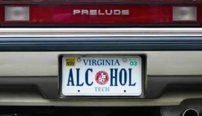 Alcohol plate