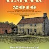 Farmer's Almanac Winter 2016 Map