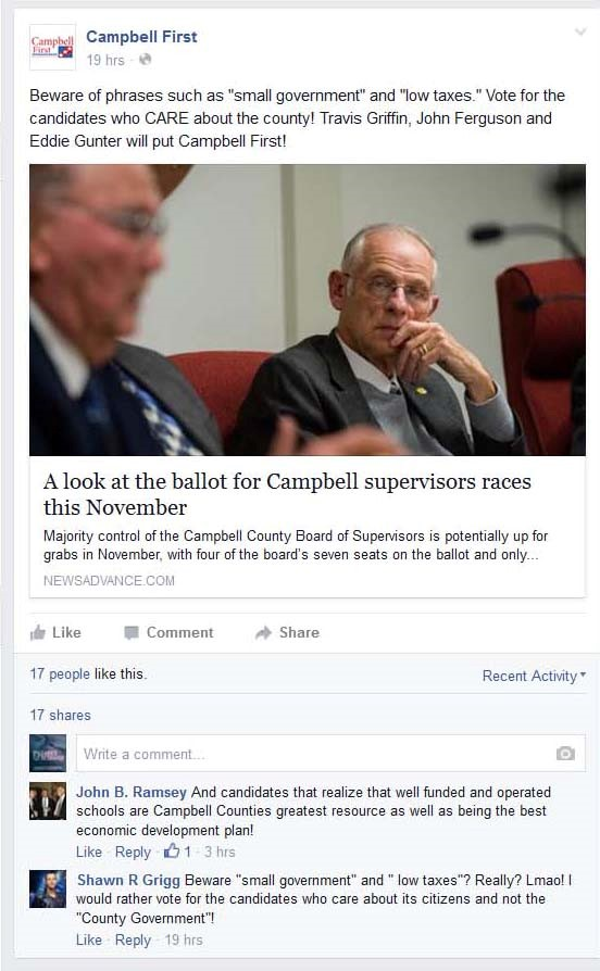 Campbell First - Anti-Conservative