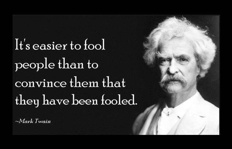 Mark Twain Fooling People