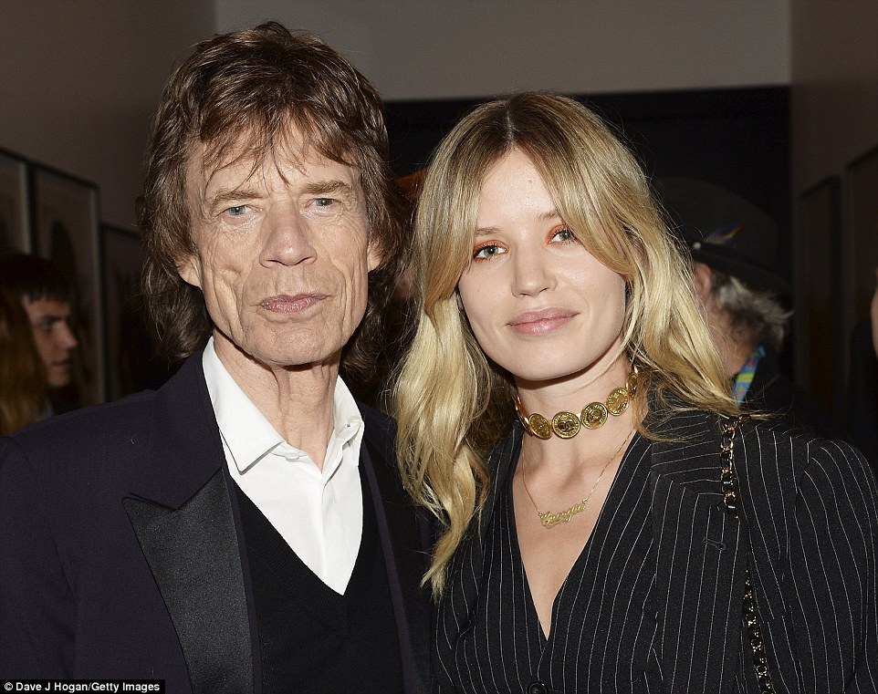 Sir Mick and daughter Georgia
