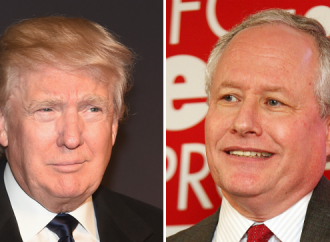 Bill Kristol Says There's a Third Party Candidate Coming and Trump blasts him