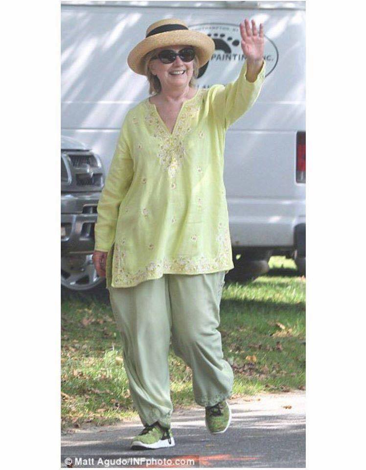 Hillary Green clothes
