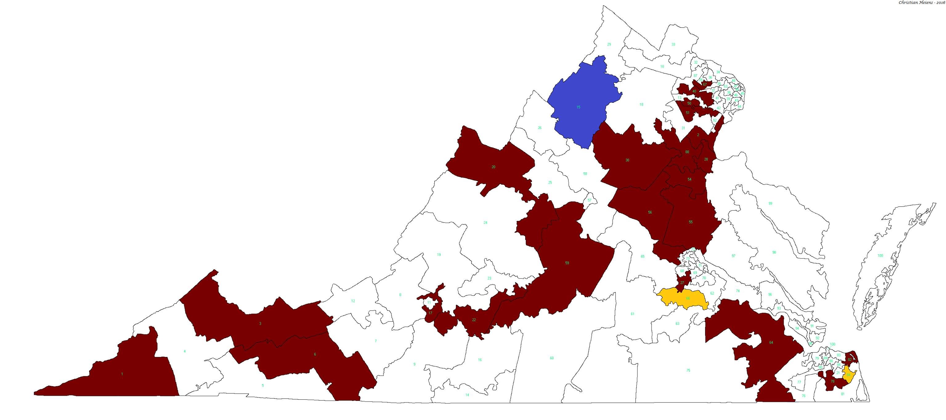 Delegate endorsement map