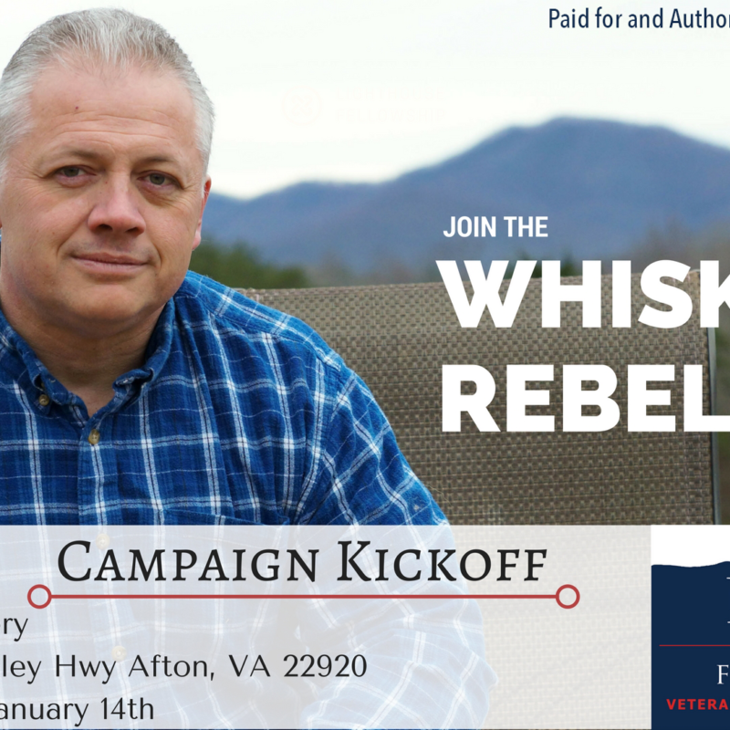 Denver Riggleman To Kick Off Campaign This Saturday!