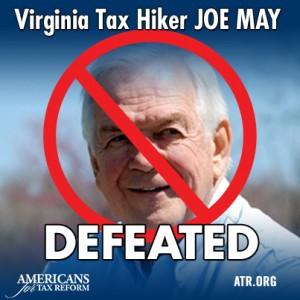 Joe May tax hiker