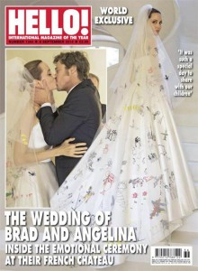 Jolie Wedding dress back