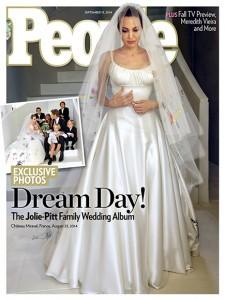 Jolie wedding dress front