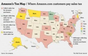 amazon tax map