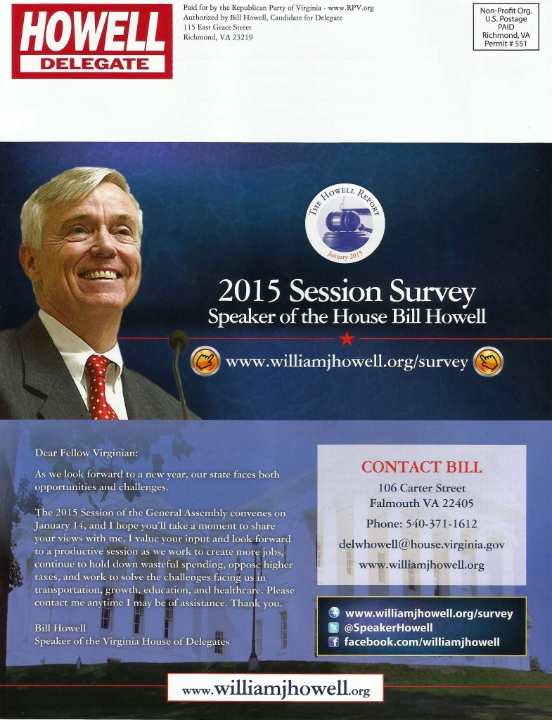 Howell Campaign Survey 01-28-2014 - Page 4