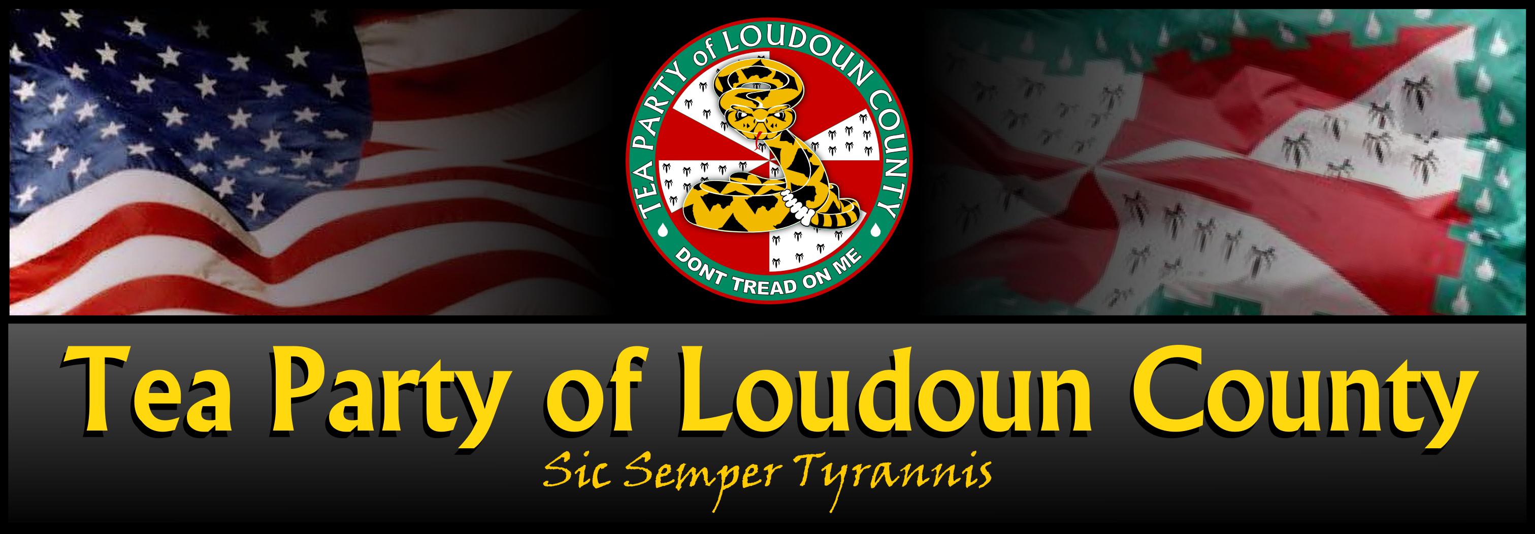 Tea Party of Loudoun County Masthead v1c