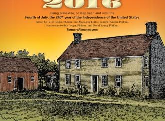 Farmer's Almanac Winter 2016 Map