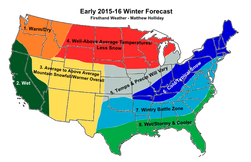 Winter Forecast 2015-2016