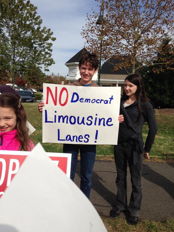 Limousine lanes