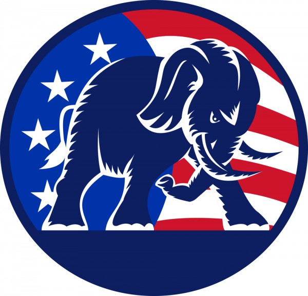 The Gop Is Going Crazy And It Is Glorious The Bull Elephant