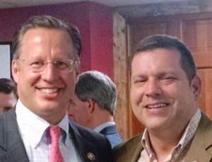 Rep. Dave Brat and Sen. Tom Garrett (r)