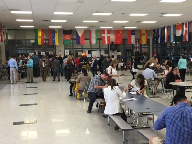 Balloting at the Virginia 10th Congressional District 2016 Convention