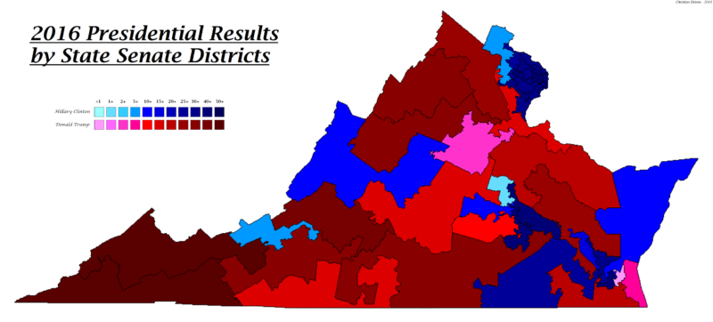 Presidential Election Results By State Senate District – The Bull