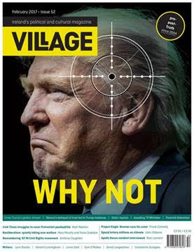 Leftist magazine The Village openly discusses the assassination of President Trump