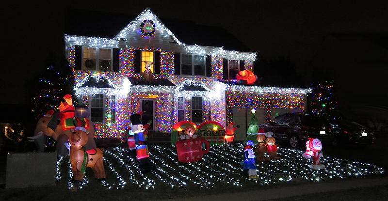 where to see christmas lights virginia maryland and dc 2017 - Christmas Lights In Dc